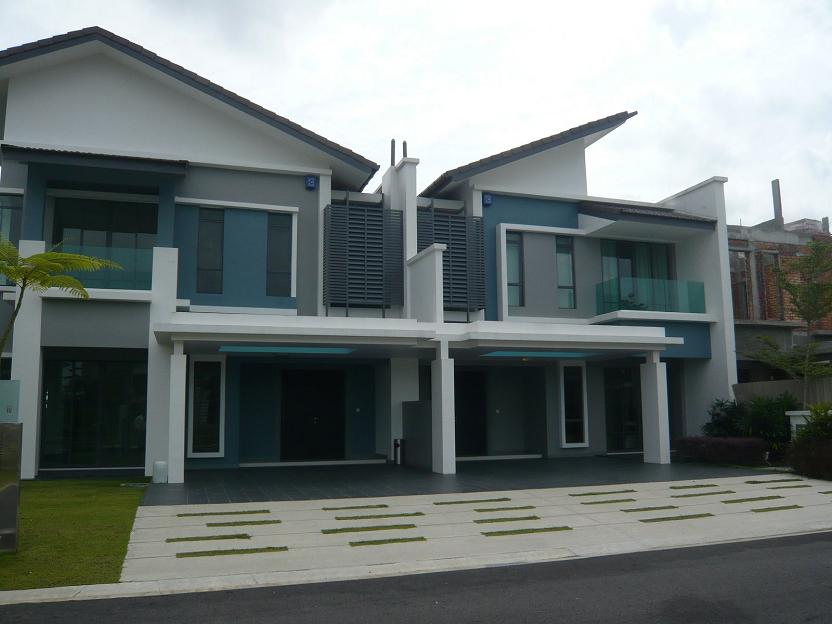 East ledang gated residential high end properties in for New terrace house